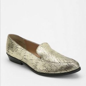 Urban Outfitters Metallic Deena Ozzy Loafer